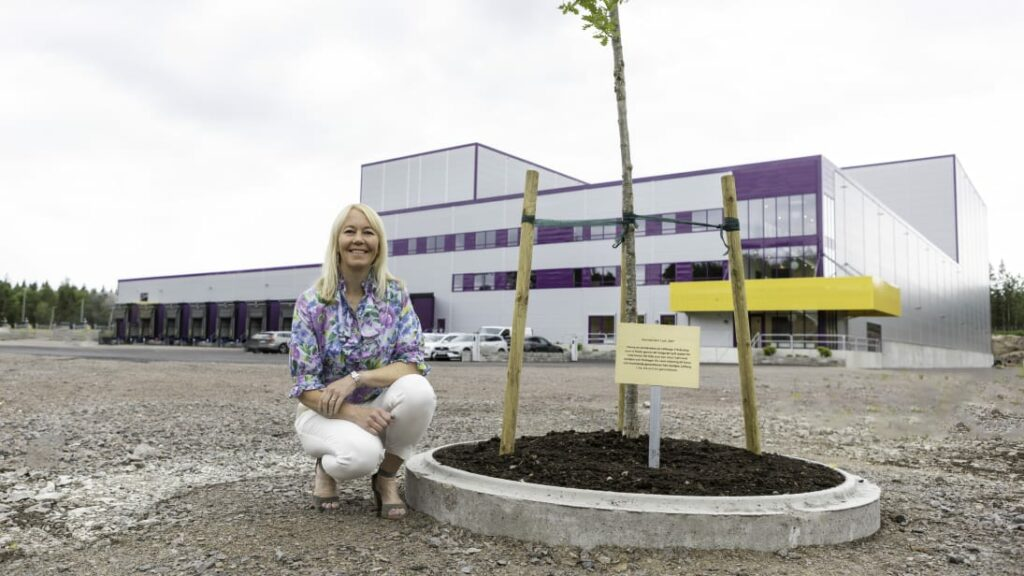 Löfberg plant and CEO