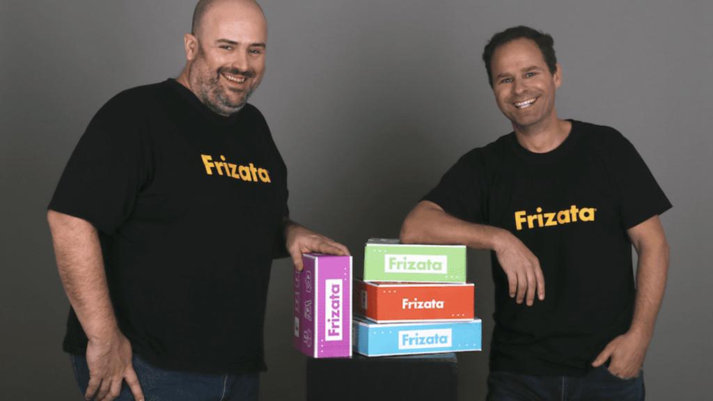 Frizata founders José Robledo and Adolfo Rouillon