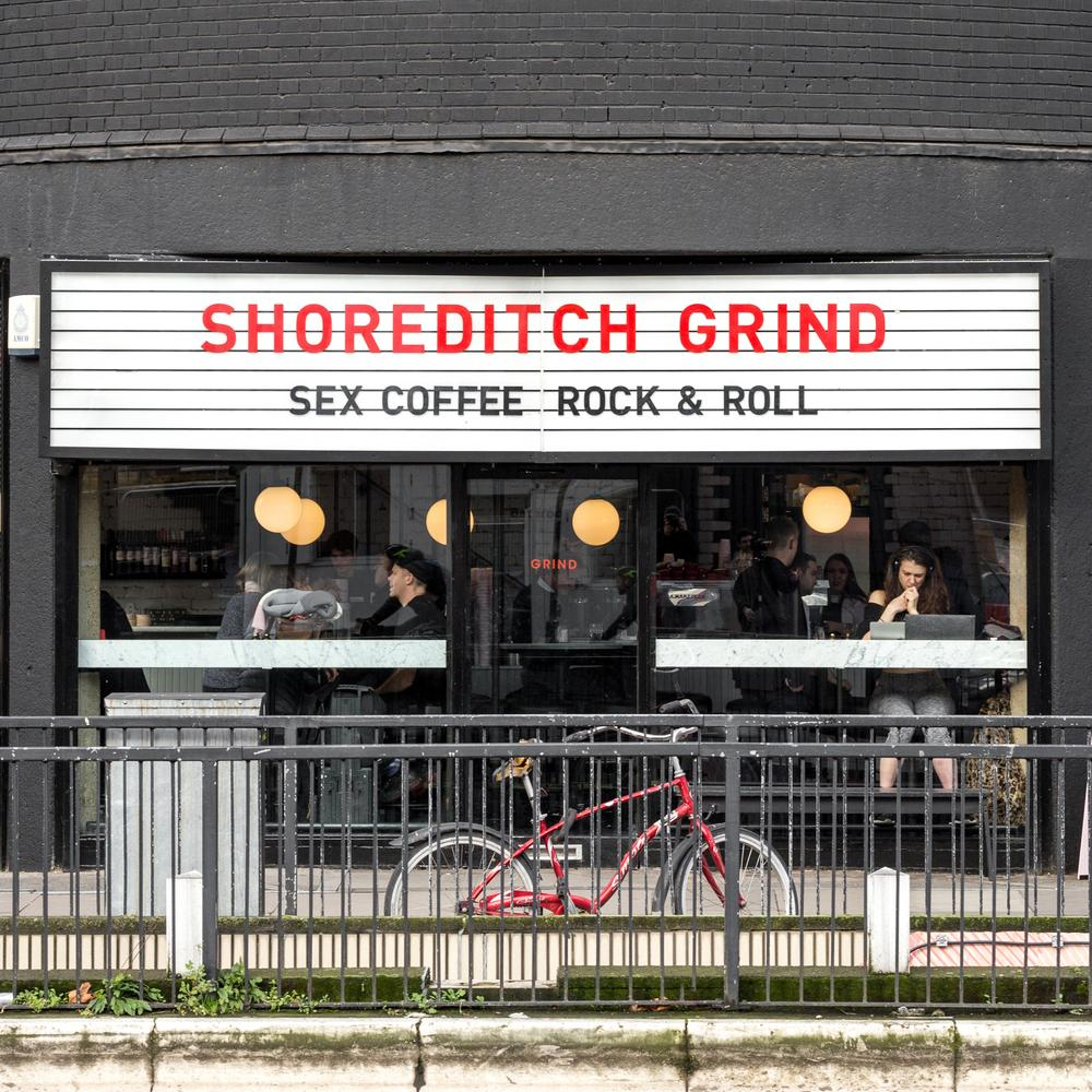 Grind store in Shoreditch, London.