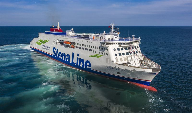 Stena Line Irish Sea alcohol